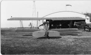 Machesney Airport Hangar - circa 1929